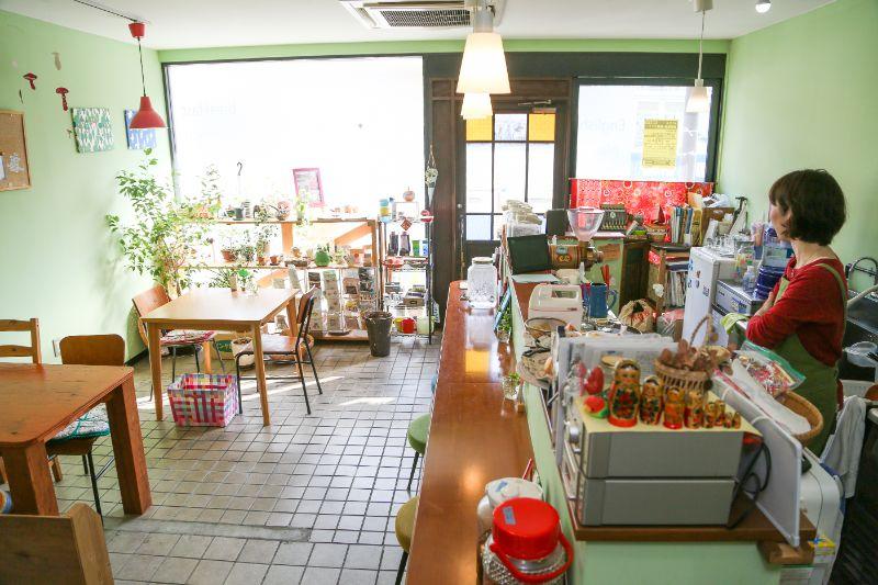 旬菜カフェ「きのこ食堂」