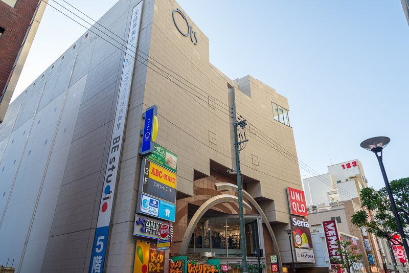 カフェやファッションなどのテナントが入る「江坂オッツ」