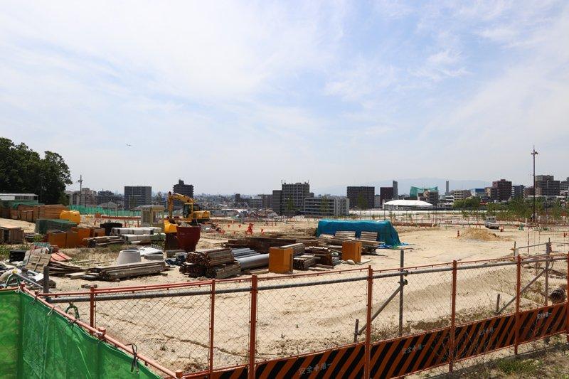 開発中の現地(2019(令和元)年5月時点)