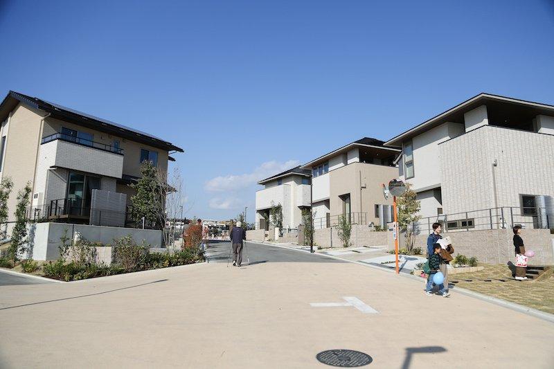 新しい住まい方が『千里 円山町の丘』にあります