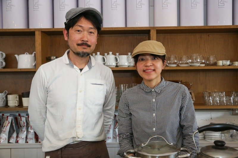 最高級の紅茶「ムレスナティー」と自家製のこだわりメニューを提供。地域に愛されるカフェ「hareiro」